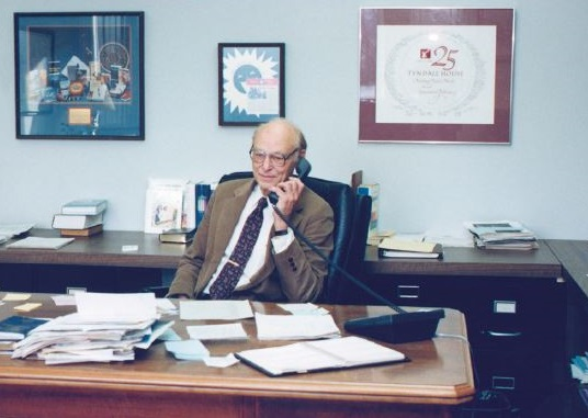 Dr. Taylor at Desk