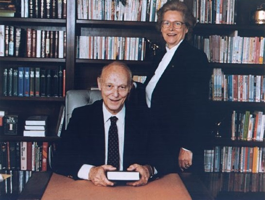 Dr. and Mrs. Taylor in Office