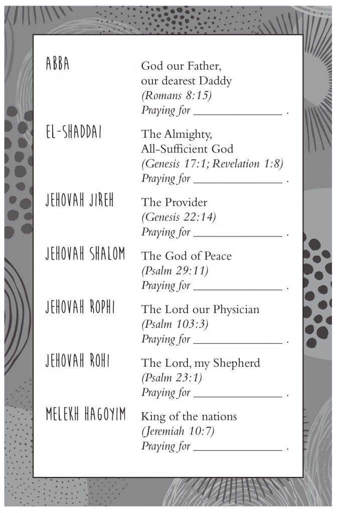 Prayer Activity Image