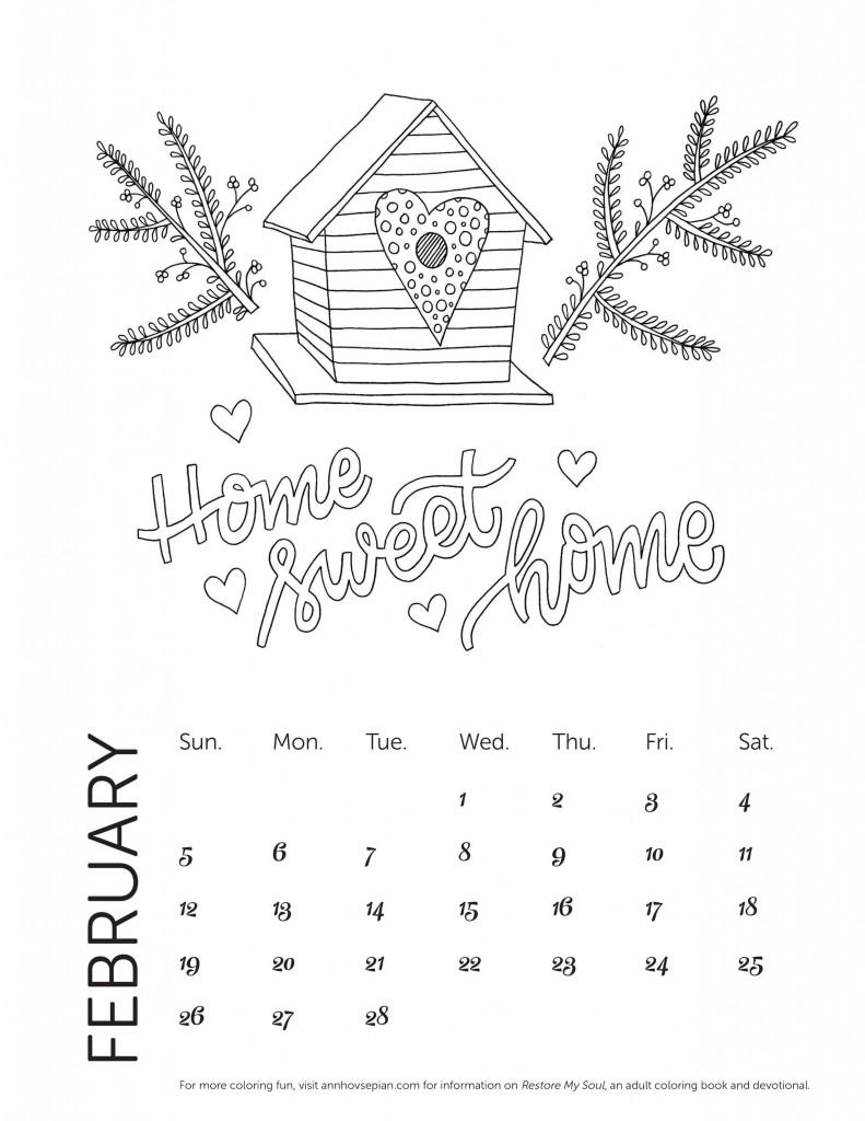 Restore My Soul Calendar Feb 2017-min