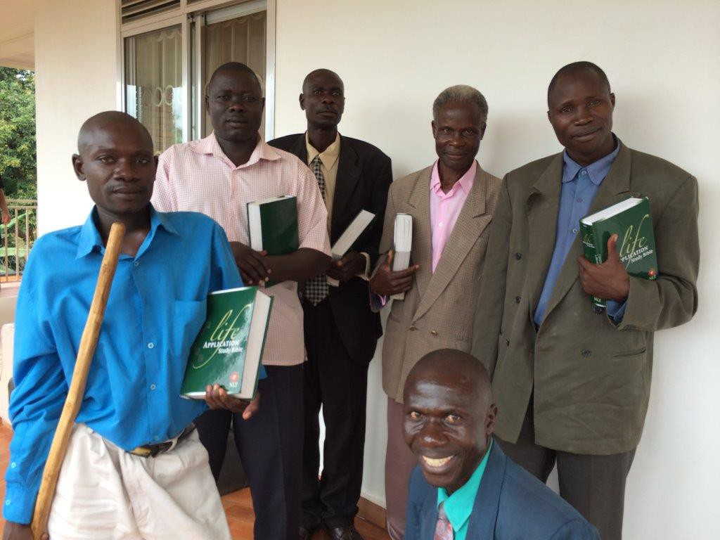 Rural pastors in Uganda who use the LASB.